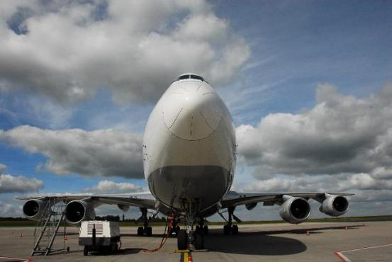 Photo avion en Russie