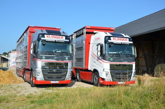 Foto Klinger kamioni u Klinger sjedištu
