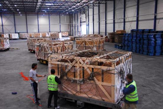 Transportne kutije u dvorani
