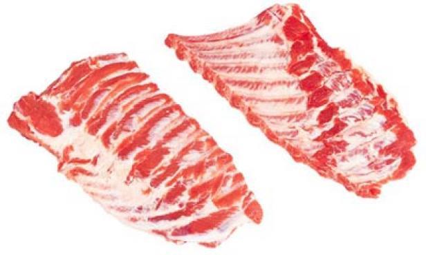 Ребра корейки и грудинки с межреберным мясом