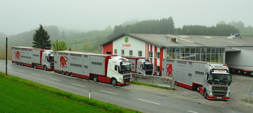 Klinger merkezindeki fotoğraf Klinger kamyonları